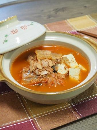 Korean food Kimchi stew