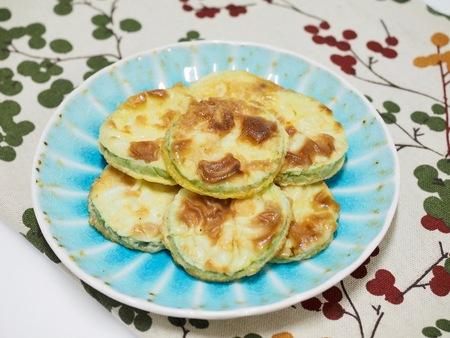 comfort food: Korean food Pumpkin Pancake, hobak jeon