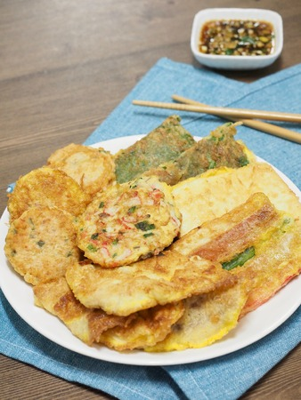 Korean food modeum jeon, Assorted Pancakes
