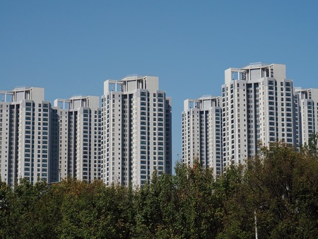 Apartment in Korea Cheongju City Sajtókép