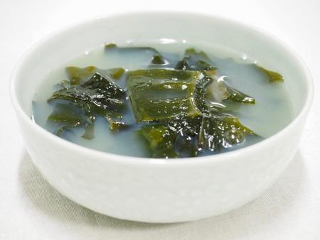 Korean food Seaweed soup