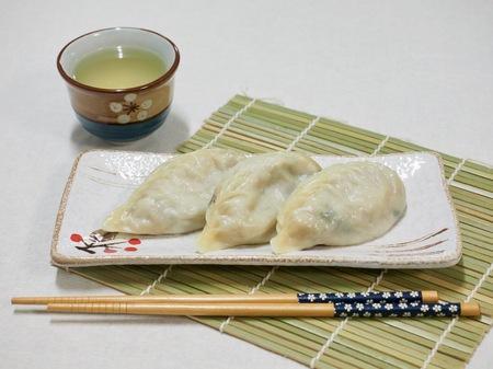 Asian food, dumplings Reklamní fotografie