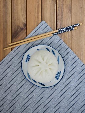 Asian food Steamed bun