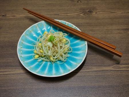 Korean food Seasoned Bean Sprouts, Mix bean sprouts 版權商用圖片