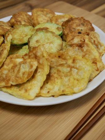 Korean food modeum jeon, Assorted Pancakes