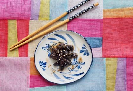 Asian food Simmered bean soy sauce Reklamní fotografie