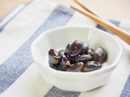 Asian food Simmered bean soy sauce Reklamní fotografie