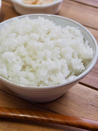 Asian food White rice