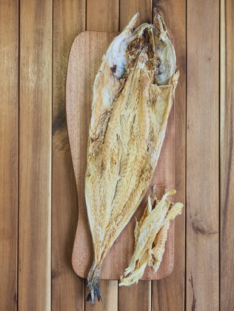 Korean food ingredients dried fish