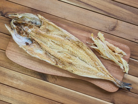 Korean food ingredients dried fish