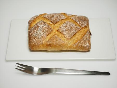 Square whole wheat bread Reklamní fotografie