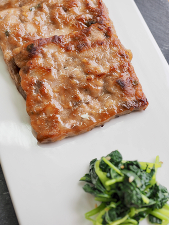 Korean food Royal bulgogi, Nebiani, Korean style beef steak 版權商用圖片