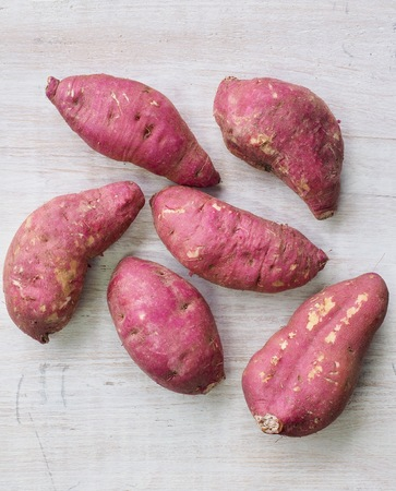 Sweet potatoes in Korea