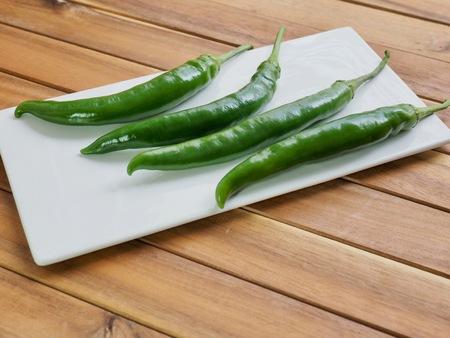 Korean vegetables Green pepper Zdjęcie Seryjne