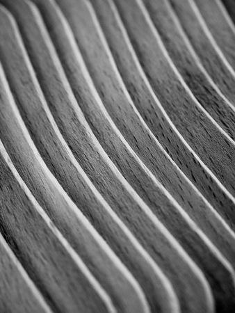 A number of wooden sticks Stockfoto
