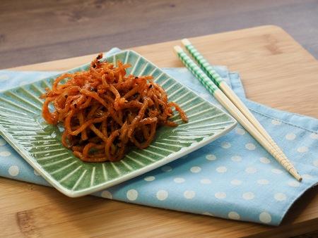 Korean food Dried shredded squid
