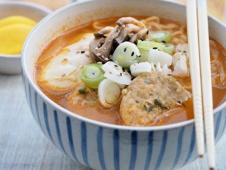 Asian food ramen, Instant Ramen 版權商用圖片