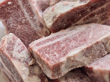 Gefrorene Rinderrippen, Gefrorenes Rindfleisch