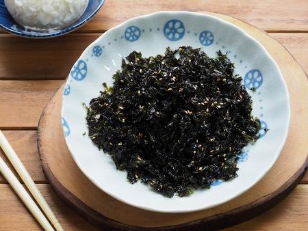 Korean food Dried laver, laver powder, Kim Jaban