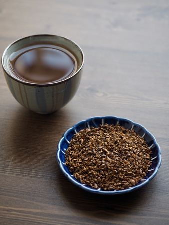 Asian traditional tea barley tea
