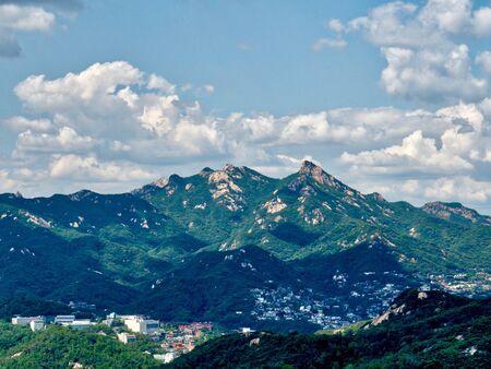Mountain in Seoul City, Korea, Bukhan Mountain, Bukhansan