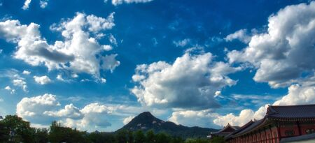 Mountain in Seoul City, Korea, Bukhan Mountain, Bukhansan