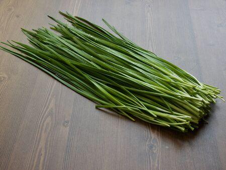 Légumes frais coréens Ciboulette, agriculture biologique