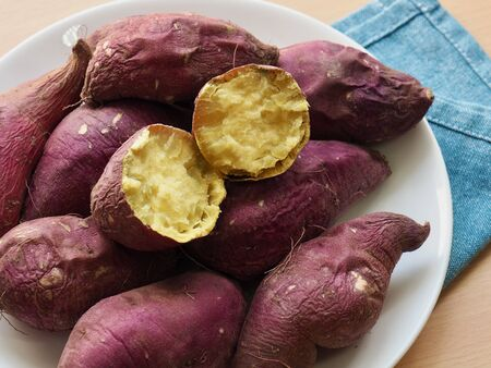 Korean Organic Sweet Potato, Roasted sweet potatoes