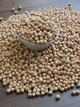 Koreas fresh organic beans, Cicer arietinum