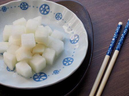 Cuisine asiatique Radis mariné, Radis de poulet