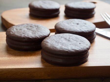 Choco Pie, Round Chocolate Sweets