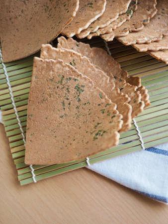 Asian traditional sweets senbei ,Rice cracker