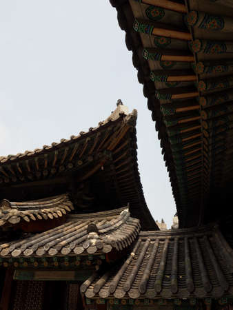Korean Traditional Palace Changgyeonggung, Traditional Building 新闻类图片