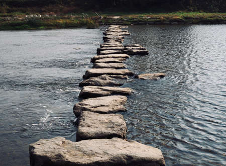 Korean streams and stepping stones