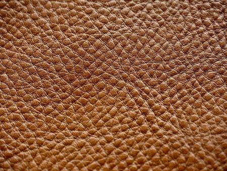 Brown leather background image, texture Reklamní fotografie