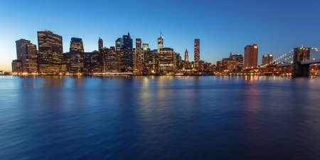 manhatten skyline: Manhattan Skyline Lizenzfreie Bilder