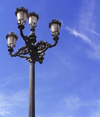 imagery: a nineteenth century style lamp Stock Photo