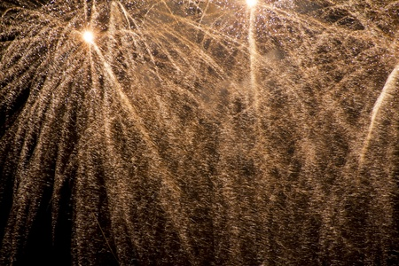 Fireworks beautiful bright colors and shapes photo