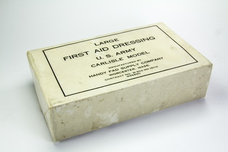 world war two: Medical supplies used during World War Two