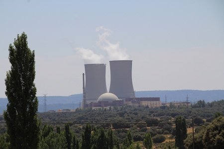Almaraz Nuclear Power Plant Stock Photo - 11118519