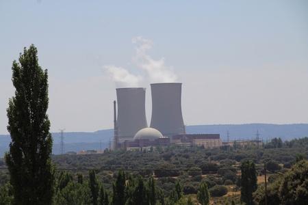 Almaraz Nuclear Power Plant Stock Photo - 11118519