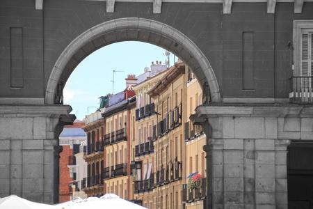 famous Plaza Mayor Madrid Spain Stock Photo - 11459702