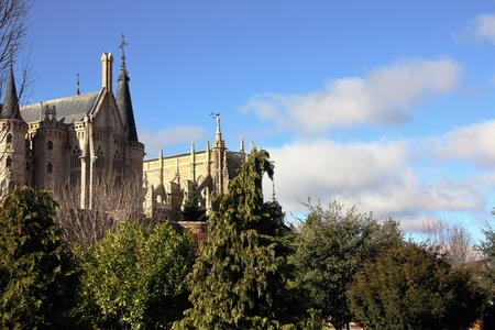 Gaudi palace (Astorga, Spain) photo
