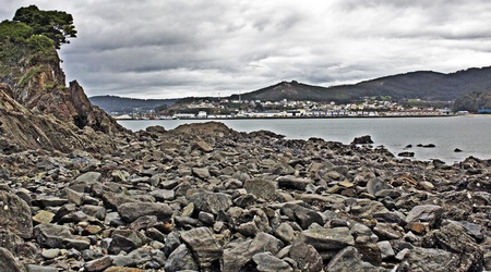 Beaches and coasts of Galicia, Spain photo