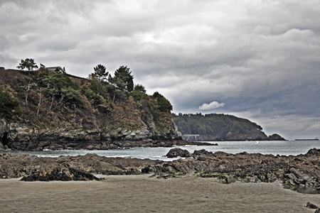 Beaches and coasts of Galicia, Spain photo