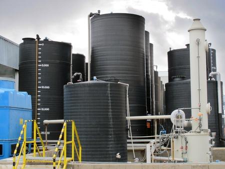 amoniaco: planta de trabajo moderna para el tratamiento y embalaje de amon�aco