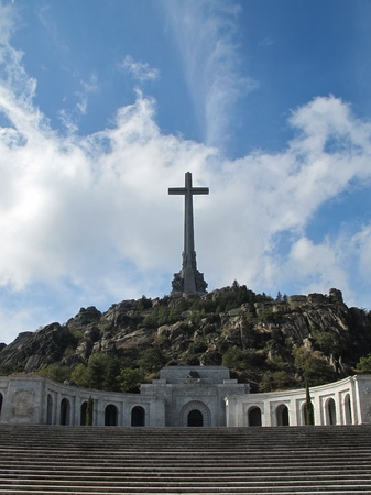 Valley of the Fallen  Valle de los Caidos  Madrid, spain photo