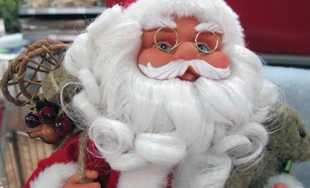 man santa claus at Christmas photo