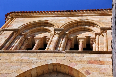 Details of the Basilica of San Vicente in Avila, Spain photo