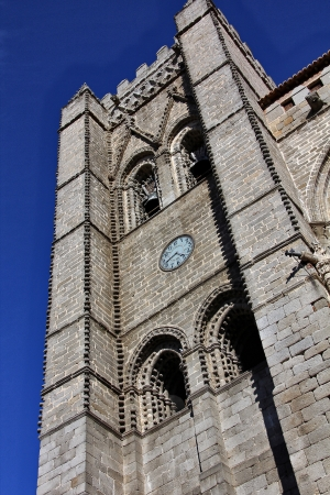 avila: Cathedral city Avila, Spain